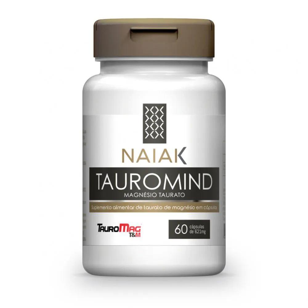 TauroMind Magnésio Taurato 60 cápsulas - Naiak