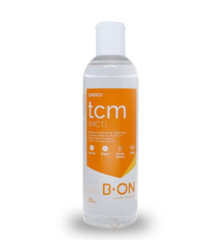 TCM Energy (Triglicerídeos de Cadeia Média) 250ml - B-ON