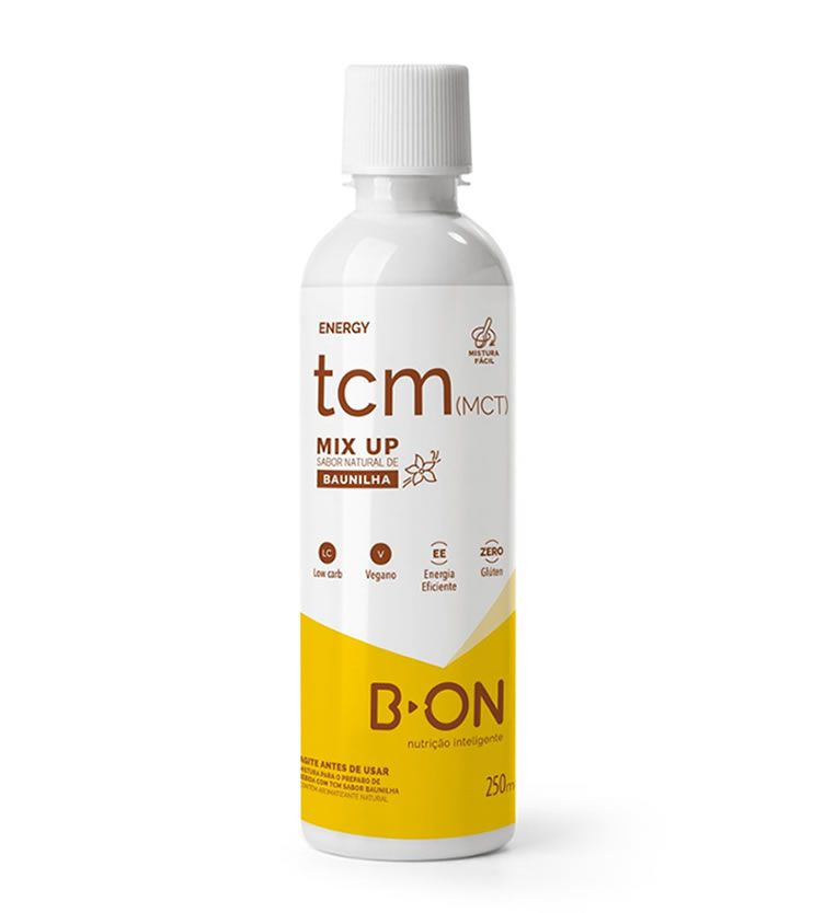 TCM Mix Up Sabor Baunilha (Triglicerídeos de Cadeia Média) 250ml - B-ON