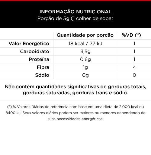 Tempero para Carne Zero Sódio 70g - 100 Foods