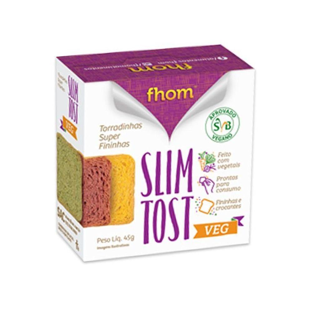 Torradinhas Slim Tost VEG 45g - fhom