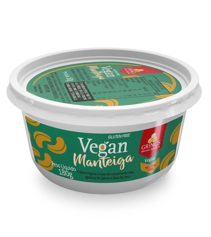 Vegan Manteiga com Sal 180g - Grings