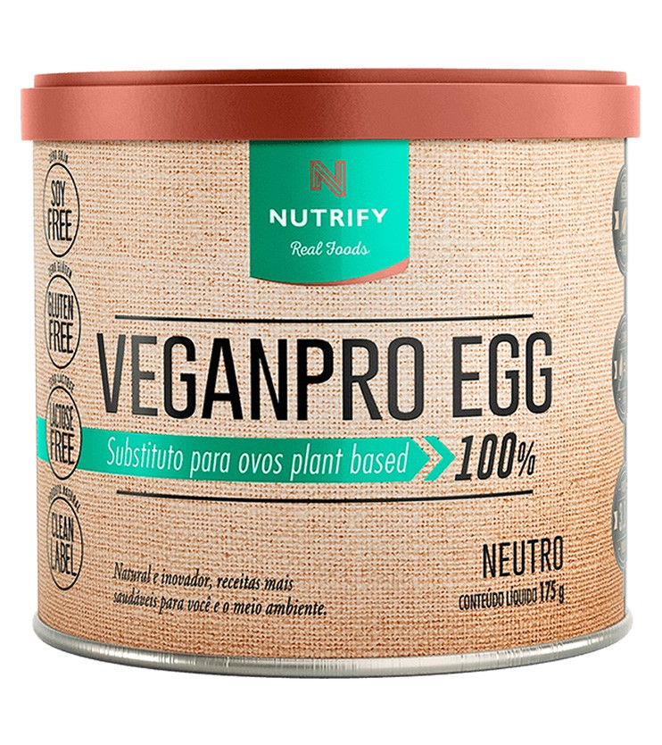 VEGANPRO EGG Sabor Neutro 175g - Nutrify