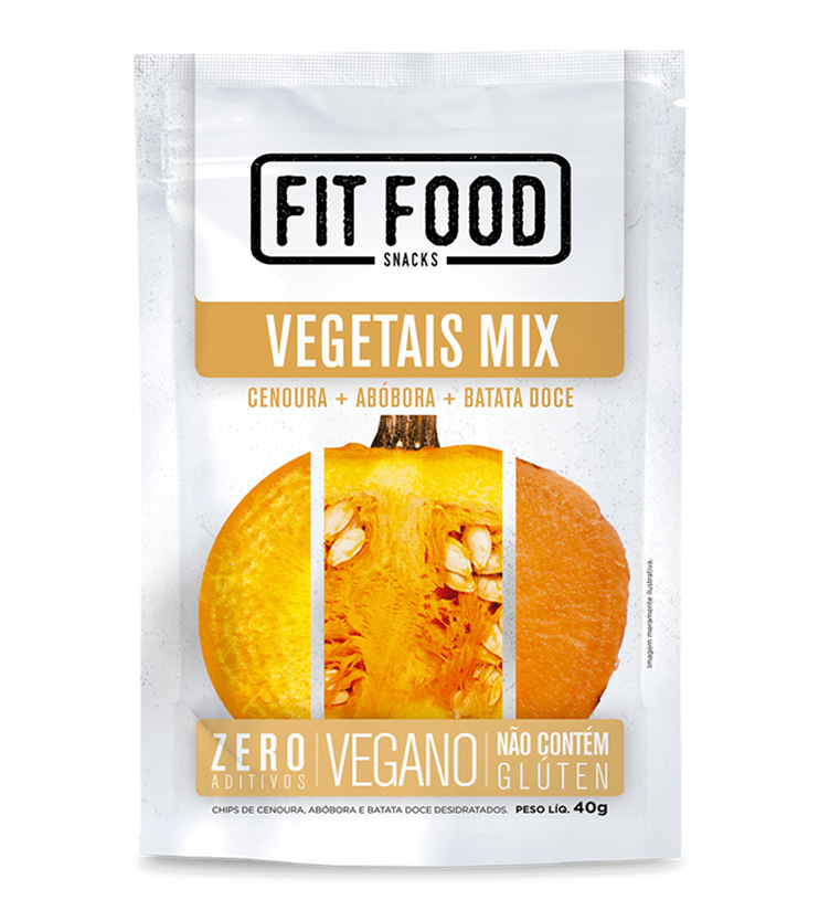 Vegetais Mix 40g - Fit Food