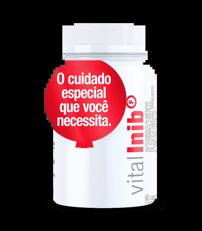 Vital Inib F 60 Cápsulas - Vital Âtman
