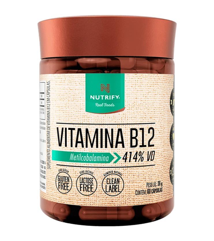 Vitamina B12 60 cápsulas - Nutrify