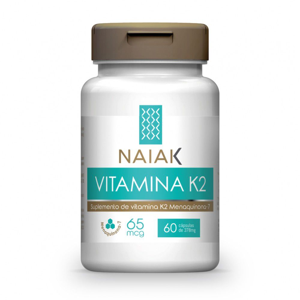 Vitamina K2 60 cápsulas - Naiak