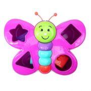 Brinquedo Didático Para Bebês Borboleta Espoleta