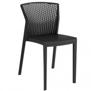Kit c/ 4 unidades Cadeira Moderna Polipropileno Peti Várias Cores