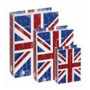 Conjunto Livro Caixa Organizadora Reino Unido