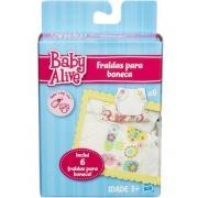 Fraldas para Boneca Baby Alive c/ 6