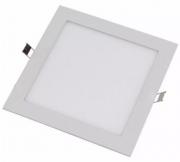 Plafon Placa Led Embutir 17,5 x 17,5 12W Bivolt Evoled