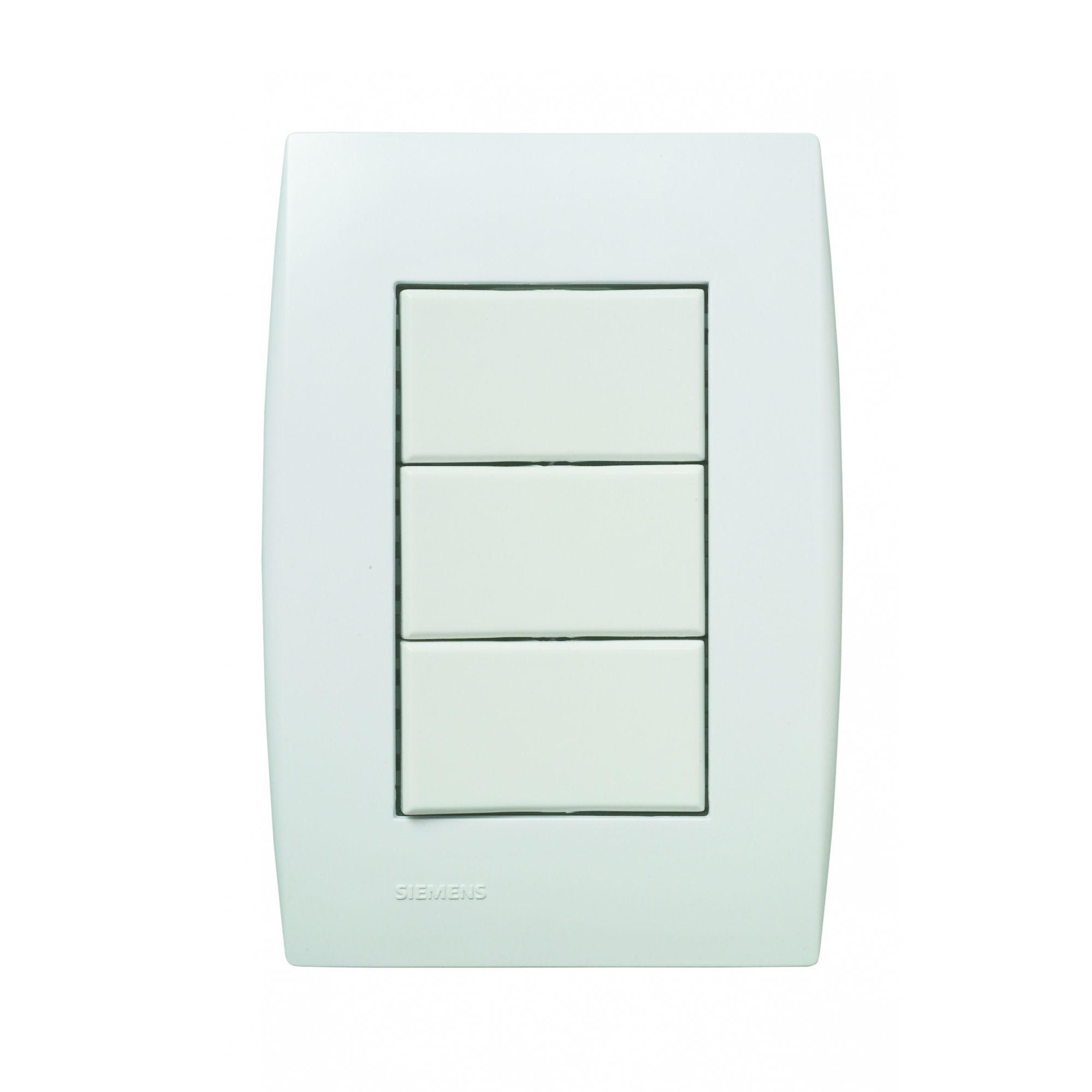 3 Interruptores Simples – Ilus 5TA9 9051 - Siemens