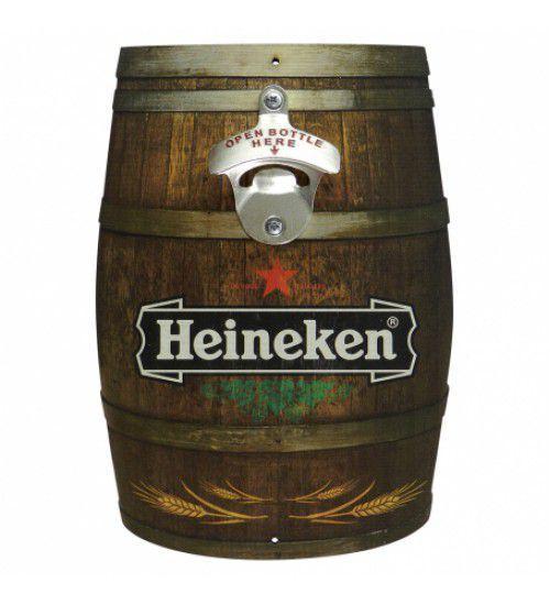 Abridor de Garrafa Barril Heineken