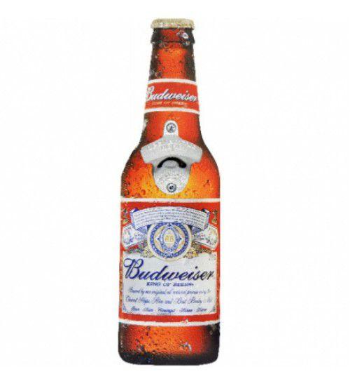 Abridor de Garrafa Budweiser