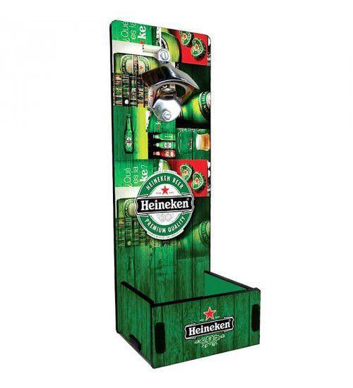 Abridor de Garrafas Parede Heineken Sortidos