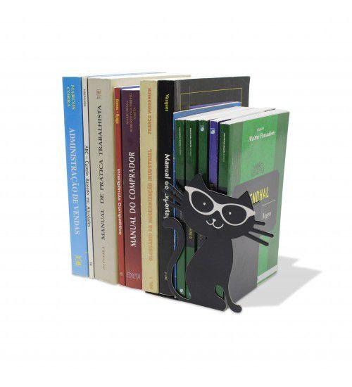 Aparador de Livros Gato Preto