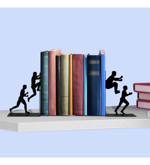 Aparador de Livros Homens em Ação