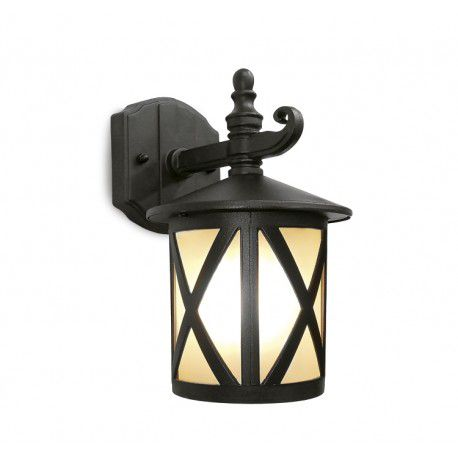 Arandela Colonial Lanterna Metal E Vidro Externa E Interna LO-1401