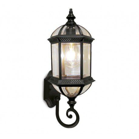 Arandela Colonial Lanterna Metal E Vidro Externa E Interna LO-1423
