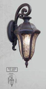 Arandela Colonial Lanterna Metal E Acrilico Externa E Interna LO-1252