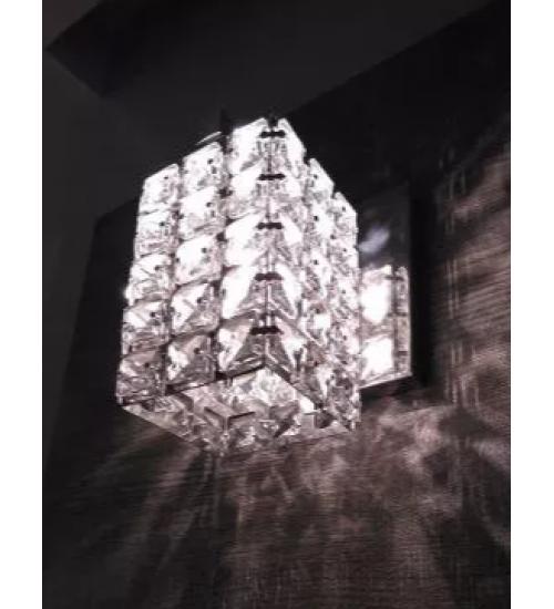 Arandela De Cristal Legítimo Asfour Egípcio Cabeceira