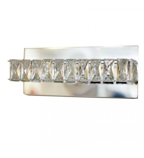 Arandela Decorativa Com Cristal Legitimo Asfour