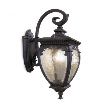 Arandela Colonial Lanterna Classica Metal E Vidro Externa E Interna LO-1410