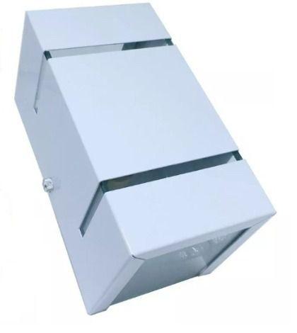 Arandela Frisada Catarina Parede Muro 2 fachos e 2 Frisos G9 Branca / Marrom / Preta + Lâmpada de LED 7W 3000k (branco quente) ou 6000k (branco frio)