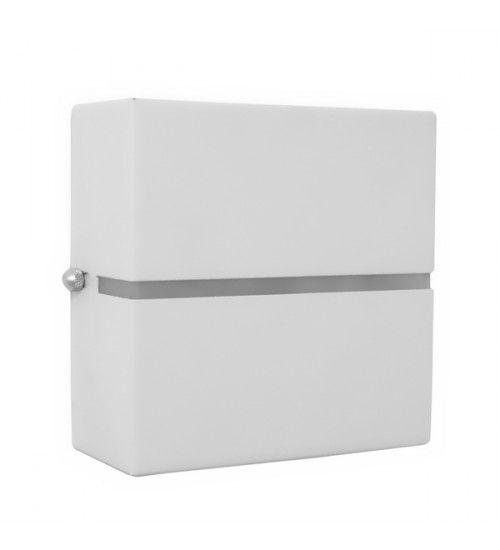 Arandela Nadir 2 Fachos e 1 Friso Uso Interno e Externo em Alumínio