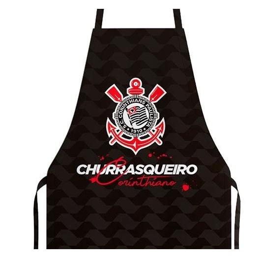 AVENTAL CHURRASQUEIRO CORINTHIANO MASCULINO
