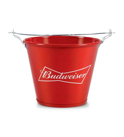 Balde de Gelo Garrafas de Cerveja Budweiser