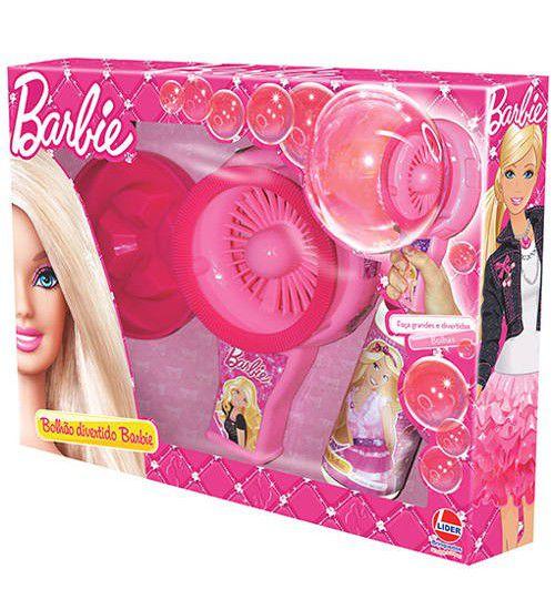 Bolhão Divertido Barbie Maquina Bolhas