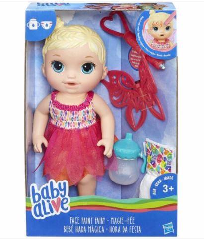 Boneca Baby Alive - Hora da Festa - Loira