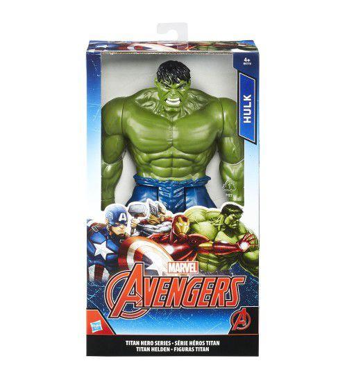 Boneco Avengers Hulk Titan Hero
