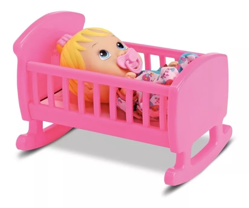 Brinquedo Boneca My Little Bercinho Divertoys