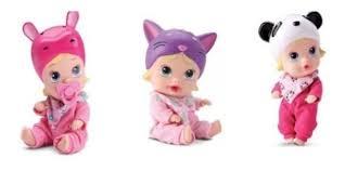 Brinquedo Boneca My Little Soninho Faz Xixi Divertoys Meninas Brincando