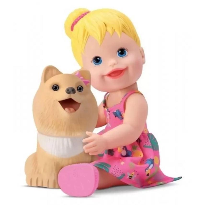 Brinquedo Boneco My Little Collection My Pet Menina