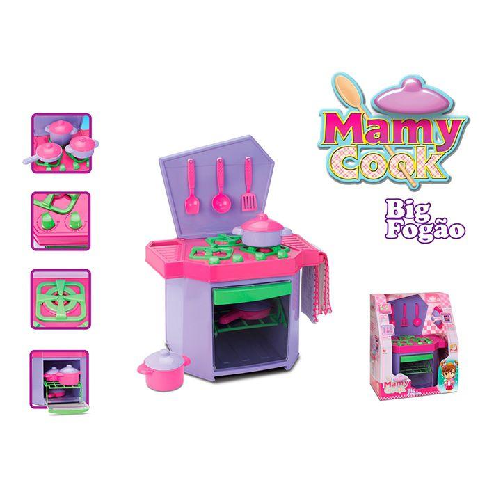 Brinquedo Fogãozinho Big Fogão Mamy Cook