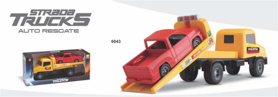 Brinquedo Guincho Carrinho Auto Resgate 24 horas