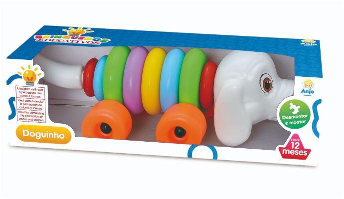 Brinquedo Infantil Para Bebês Doguinho