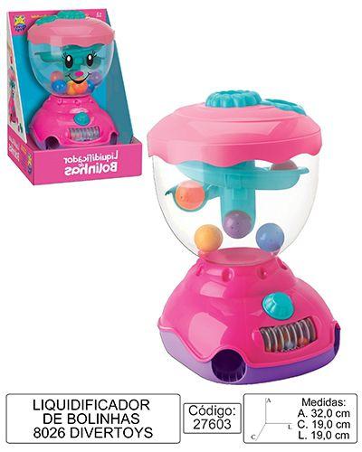 Brinquedo Liquidificador De Bolinhas - Coordenação - Divertoys