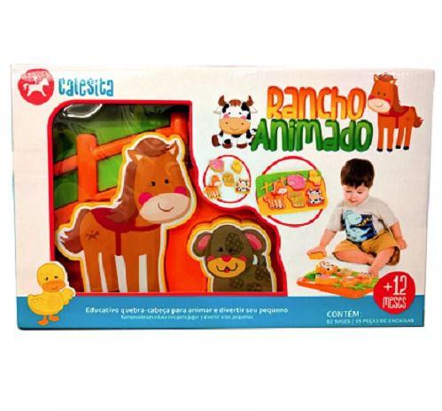 Brinquedo Rancho Animado Infantil Bebês 838 - Calesita
