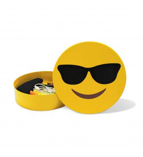 Caixa de Aço Emoji Óculos
