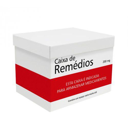 Caixa de Aço Organizadora Porta Remédios