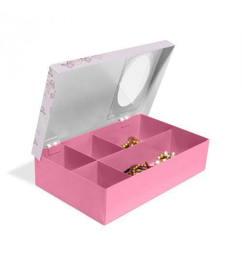 Caixa de Aço Porta Joias Bailarina