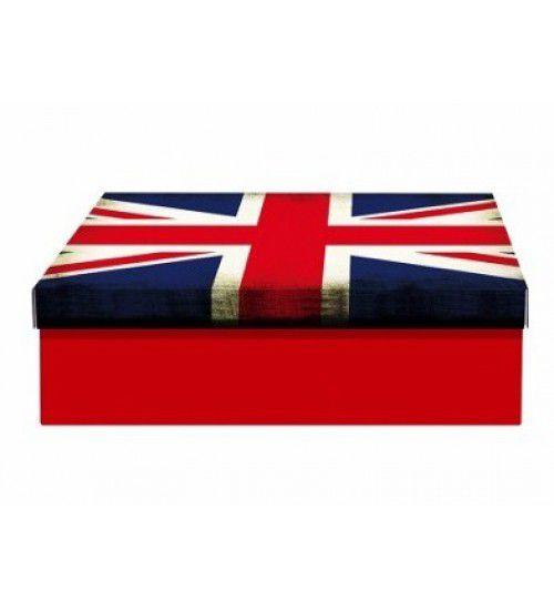 Caixa de Aço Porta Objetos Reino Unido