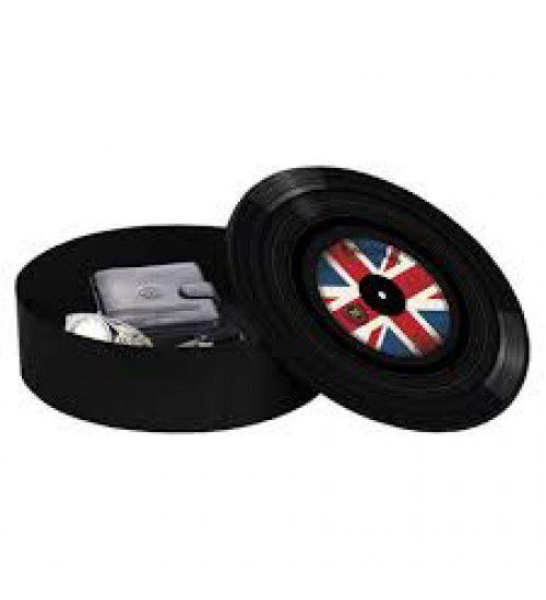 Caixa Organizadora Formato de Disco Reino Unido