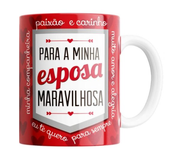 CANECA ESPOSA MARAVILHOSA