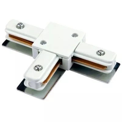 Conector T para trilho eletrificado